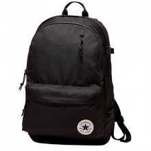 Straight edge backpack - fekete nagy hátitáska