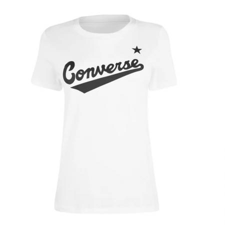 Converse Nova Center Front Logo Tee - White