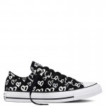 CONVERSE CHUCK TAYLOR ALL STAR PRINT BLEEDING LOVE BLACK TORNACIPŐ