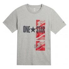 Converse Férfi Póló One Star Szürke