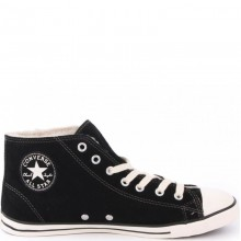 Chuck Taylor All Star Dainty Mid Suede Black
