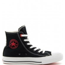 "Chuck Taylor Red Print ""I love Blank"""