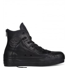 Chuck Taylor All Star Leather Hi Top Black