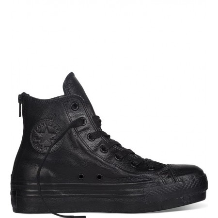 Chuck Taylor All Star Leather Hi Top Black