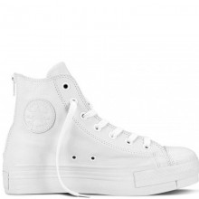 Chuck Taylor All Star Leather Hi Top White