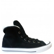 Chuck Taylor All Star Junior Super Hi Suede Black