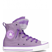 Chuck Taylor All Star Party YTH/JR Hi Lilac