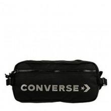 Converse fekete, ezüst írásos övtáska