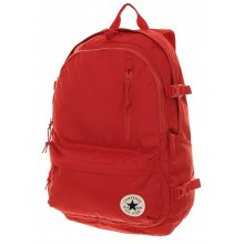 Straight edge backpack - piros nagy hátitáska