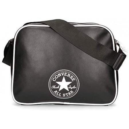 Converse Future Retro Reporter Bag- Fekete Műbőr Oldaltáska