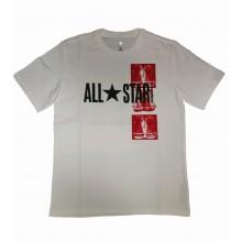 Converse Archive Chuck Short Sleeve Tee- Fehér férfi póló