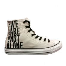 Chuck Taylor All Star We Are Not Alone Hi - Szürke