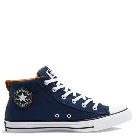 Converse Chuck Taylor All Star Street Mid Midnight Navy