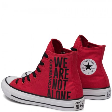 Chuck Taylor All Star We Are Not Alone Hi - Piros