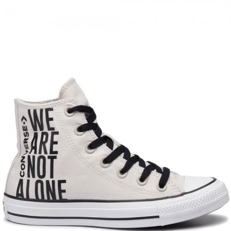 Chuck Taylor All Star We Are Not Alone Hi - Szürke